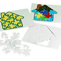 Cardboard Puzzle Crafts