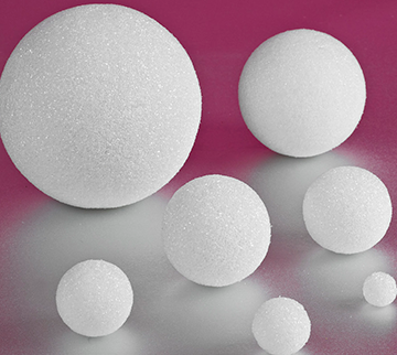 Styrofoam Balls and Eggs