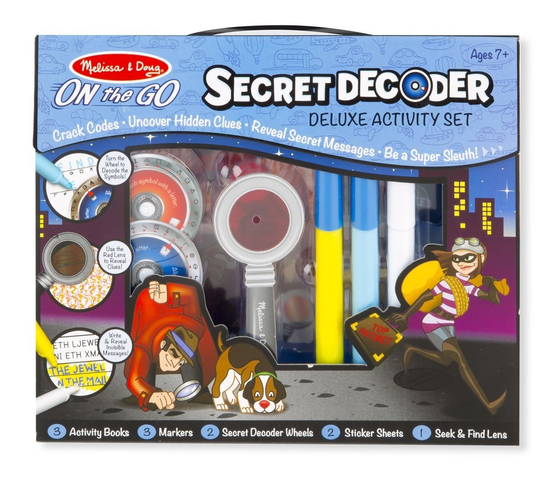 Secret Decoder Deluxe Activity Set