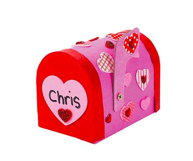 EconoCrafts: DIY Valentine Mailbox Craft