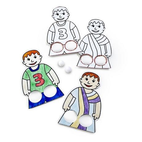 Soccer Finger Puppets