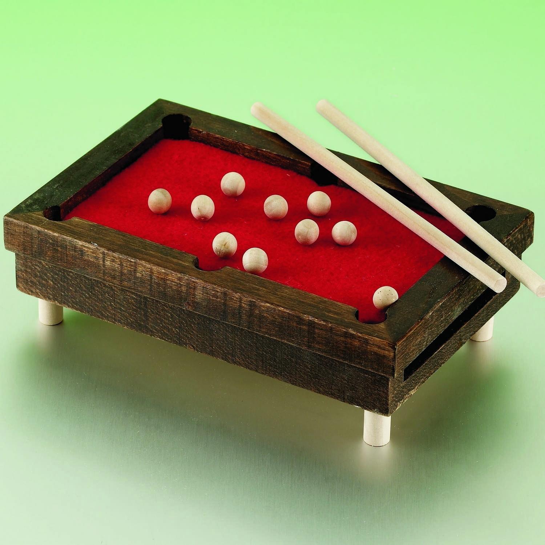 Econocrafts Diy Mini Wooden Pool Tables