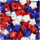Patriotic Star Pony Beads