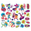Assorted Superhero Stickers