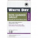 White Dry Non-Sanded Grout - 5 Lbs.