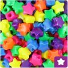 Star Pony Beads - Neon