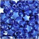 Blue Star Pony Beads