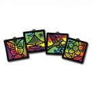 Scratch Art Light Catchers