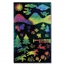 Scratch Art Glitter Sheets - Rainbow