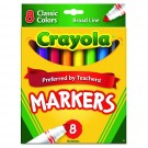 Crayola Broad Line Markers - 8 Pack