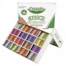 800 Count Crayon Classpack, 16 Colors