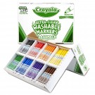 Crayola Broad Line Washable Markers Claspack