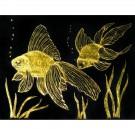 Gold & Silver Scratch Art Paper