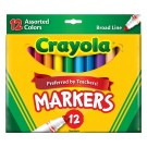 Crayola Broad Line Markers - 12 Pack
