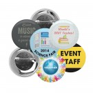 Pin Back Buttons - 100 Pack