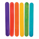 Jumbo Rainbow Craft Sticks