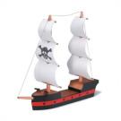 DIY Wooden Pirate Ship