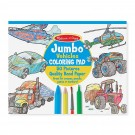 Jumbo Vehicles Coloring Book