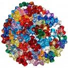 Translucent Multicolor Tri Beads