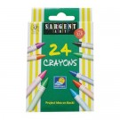 Sargent Crayons - 24 Pack