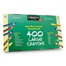 Sargent Art Large Crayons - 400 Pack
