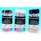 White Bristle Brush Assortment