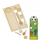 DIY Wooden Bookmark - Sports