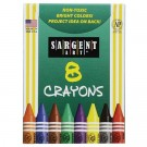 Sargent Crayons - 8 Pack
