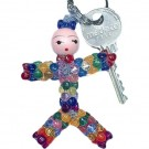 DIY Beaded Doll Key-Chains