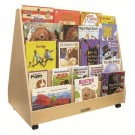 Birch Double-Sided Book Display