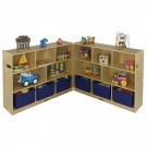 8 Compartment Fold and Lock Cabinet