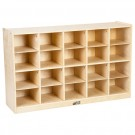 Storage Cabinet with 20 Tray Cubbies