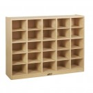 25 Cubby Tray Cabinet