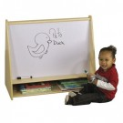 Book Display with Dry Erase Board