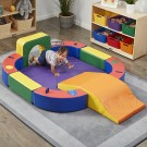 Softzone Discovery Center with Tunnel and Slide