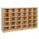 30 Cubby Tray Cabinet