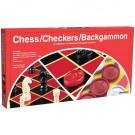 Chess / Checkers / Backgammon Set
