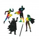 Magic Color Scratch Superheroes