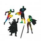 Color Scratch Superheroes