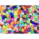 Multicolored Pony Beads