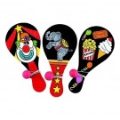 Color Your Own Circus Paddle Balls