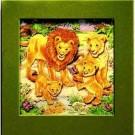 3D Pop Art Lion Picture