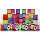 Rexlace Plastic Lacing / Assorted Colors / 25 Spools
