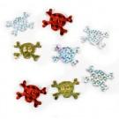 Holographic Skull & Crossbones Stickers