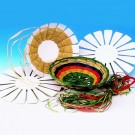 DIY Raffia Weaving Baskets