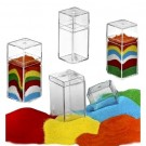 Plastic Sand Art Boxes