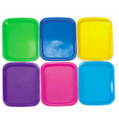 Colorful Craft Trays