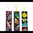 CYO Fuzzy Luau Bookmarks