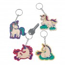 Color Your Own Unicorn Key-Chains