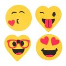 Valentine's Day Emoji Magnet Craft Kit